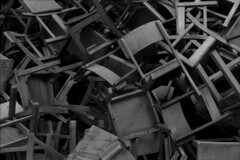 ARCHIVE: Brisbane May 1978 (i_shudder) Tags: abstract brisbane archive chairs history queensland australia blackwhite