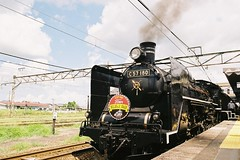 SLばんえつ物語 SL Banetsu-Monogatari (しまむー) Tags: pentax mz3 smc a 28mm f28 kodak gold 200 北海道&東日本パス 普通列車 local train trip east japan
