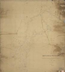 Mapa da bacia do Rio São Francisco, 1887 (Arquivo Nacional do Brasil) Tags: riosãofrancisco arquivonacional arquivonacionaldobrasil nationalarchivesofbrazil nationalarchives nordeste regiãonordeste