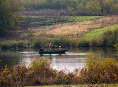 Fisherman (Dumby) Tags: landscape ilfov românia petrăchioaia afumați fisherman outdoor nature autumn fall colors