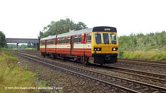 04/08/1993 - Monk Fryston (Milford South Junction), Selby, North Yorkshire. (53A Models) Tags: britishrail wypte class141 pacer 141109 dmu diesel passenger monkfryston selby northyorkshire train railway locomotive railroad