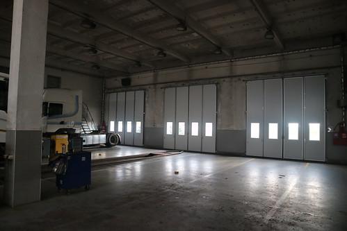 Scania Dnipro Folding doors