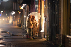 In this Light (on this Evening) (iwona_podlasinska) Tags: iwona podlasinska children world uk locksbottom street lights rain shop window