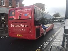 Borders Buses Optare Metrocity YJ17FZD 11728 (Daniely buses) Tags: service60 optarebus 11728 yj17fzd optaremetrocity wcm westcoastmotors bordersbuses