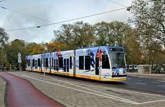 Op de Lange Latten (Peter ( phonepics only) Eijkman) Tags: amsterdam city combino colorbino gvb tram transport trams tramtracks trolley rail rails strassenbahn streetcars nederland netherlands nederlandse noordholland holland