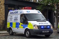 BX11 HVG (S11 AUN) Tags: london metropolitan police ford transit rpu roads policing unit equipment carrier station response van irv incidentresponseunit 999 emergency vehicle metpolice bx11hvg