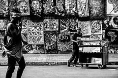 Along the street B/W (stephenccwu) Tags: bw streetphotography johannesburg jozi nikonz6 art pedestrian binner