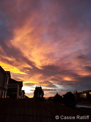 November 3, 2019 - Stunning sunset on the Colorado Front Range. (Cassie Ratliff)