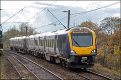 Northern 195002 (Mike McNiven) Tags: arriva railnorth northern caf civity dmu diesel multipleunit warrington warringtoncentral manchester manchesterairport airport liverpool limestreet gatley
