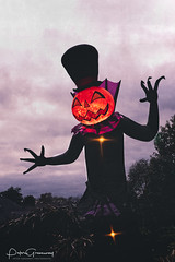 Halloween Decorations In Nolansville, Tennessee (Peter Greenway) Tags: allhallowseve celebration decoration england halloween halloweencelebrations halloweendecorations spooky uk nolansville tennessee unitedstatesofamerica