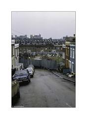 Lavender Hill 1982 Kodachrome © (wpnewington) Tags: corrugatediron lavenderhill analogue film analog transparency slide london 1982 kodachrome kodak olympus om2n