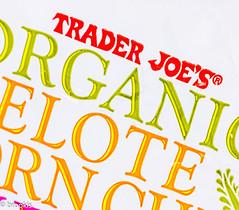Trader Joe's (brookis-photography) Tags: brandandlogos macromondays traderjoes organic store crisps cornchips bag food