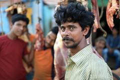 India, market vendor in Tamil Nadu (Dietmar Temps) Tags: asia ethnic ethnie ethnology faces groupofpeople india indien market muslim naturallight outdoor people streetphotography tamilnadu tiruvannamalai wallah vendor streetportrait 35mm