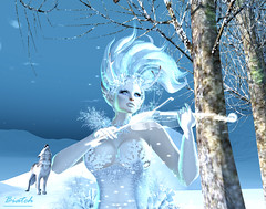 elven princess (Biatch Fenwitch) Tags: irrisistible frozen elf gacha garden gachagarden ice winter christmas elves fantasy costume roleplay