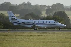 G-CKUB (IndiaEcho) Tags: gckub cessna 560 citation xls luton international airport airfield eggw ltn aircraft aeroplane aviation jet bedfordshire england canon eos 1000d