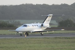 OE-FAT (IndiaEcho) Tags: airport international luton england canon eos aircraft aviation jet bedfordshire aeroplane airfield ltn eggw 1000d mustang 510 cessna citation oefat