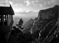 ... (Natasha Buzina) Tags: montserrat mountains nature film blackandwhite nikonfm2 пленка монтсеррат испания горы