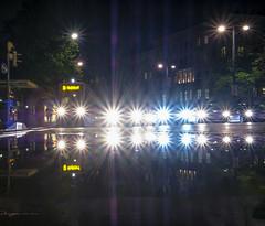 Traffic Lights (CoolMcFlash) Tags: traffic lights car night street vienna tram tramway reflection puddle water fujifilm xt2 city citylife verkehr lichter auto nacht strase wien strasenbahn spiegelung pfütze wasser rain regen stadt urban fotografie photography xf1024mmf4 r ois