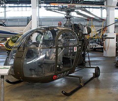 Alouette II (Schwanzus_Longus) Tags: wernigerode german germany france french old classic vintage aviation helicopter chopper aérospatiale alouette aerospatiale se 3130 ii military bundeswehr
