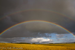 Double Rainbow (broadswordcallingdannyboy) Tags: leonreillyphotography copyright donotcopy eos7d canon leonreilly eflens cumbria doublerainbow rainbow colour countryside wideangle mood dramaticsky northernengland colourful tebay landscape uk england lakedistrict
