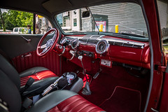 Classy Interior (Brad Prudhon) Tags: 1946 2019 antique custom ford hotrod may providenceforge virginia williamsburg car