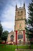 Rememberance Day Display, St James' Church, Dursley (Posh Pikey) Tags: church dursley poppies stjames yarnbomb