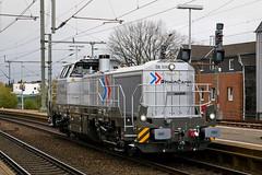 P1970298 (Lumixfan68) Tags: eisenbahn loks baureihe de18 4185 rheincargo dieselloks privatbahn vossloh rangierloks