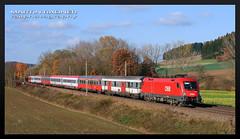 1016.003 / IC 547 / Lambach (Bild-Werkstatt) Tags: taurus lokomotive öbb ic intercity eurocity fernverkehr uic wagen oebb rh1016 br1016 öbb1016