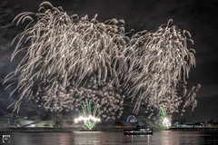Dazzled (alundisleyimages@gmail.com) Tags: fireworks event display light ferry rivermersey liverpool city waterfront port maritime liverpooleye explosions night longexposure seacombe wirral weather stars nature guyfawkes celebration festival