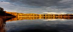 Magic evening (Patricia Buddelflink) Tags: lake sundown landscape nature
