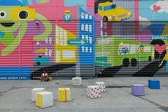 Time to recharge. (ho_hokus) Tags: 2019 fujix20 fujifilmx20 manhattan nyc newyorkcity worldtradecenter mural recharge