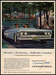 Dynamic 88 (novice09) Tags: magazinead advertising advert oldsmobile 1961