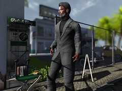 """""""Never let your sense of morals prevent you from doing what is right."""" (Roy Mildor/Top Striker / RM Art Of Poses CEO) Tags: gild fameshed roymildor maleblogger menfashion blog men man male cool guy suit malefashion magnificent"""