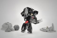 Lego Warhammer 40k Raven Guard (Faber Mandragore) Tags: lego moc afol sci fi mech monday wh40k warhammer 40k raven guard battlesuit power armor faber mandragore fabermandragore