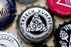 Macro Mondays: Brand And Logos (margycrane) Tags: macromondays beer trzechkumpli beercap craftbeer polishcraftbeer piwo kapsel