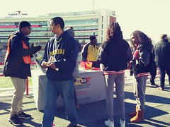 ITA_SHA_UMD_PedTerpsHomecoming_110219_30 (Idle Time Ads) Tags: streetteam publicoutreach itapromotions idletimeadvertising maryland washington dc virginia pedestriansafety universityofmaryland terps umd sha mdot collegeparkwalksmart