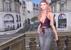 Essential in your closet (Rose Sternberg) Tags: liz shape for genus bento project baby face head maitreya lara body second life event 2019 scandalize november aralda top pants fameshed stealthic purity hair marketplace fashionstyle blog trend style fashion autumn autumnal montmartre virtual