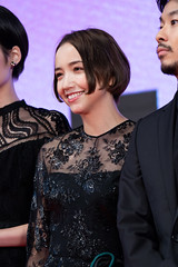 """Toyota Ellie from """"Taro the Fool"""" at Opening Ceremony of the Tokyo International Film Festival 2019"""