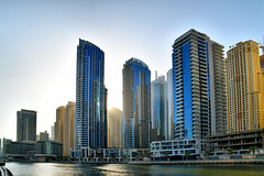 Dubai (Neal J.Wilson) Tags: dubai uae middleeast arabian architecture arabia islamic cityscapes cities city megacities futuristic skyscrapper skyline marina dubaimarina goldenhour travel travelling modern nikon