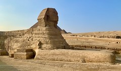 The Great Sphinx of Giza (cjbphotos1) Tags: cairo egypt africa giza travel vacation viking adventure culture history sphinx