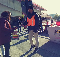 ITA_SHA_UMD_PedTerpsHomecoming_110219_16 (Idle Time Ads) Tags: streetteam publicoutreach itapromotions idletimeadvertising maryland washington dc virginia pedestriansafety universityofmaryland terps umd sha mdot collegeparkwalksmart