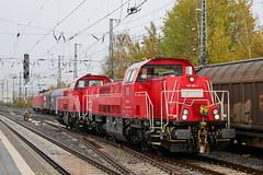 P1970254 (Lumixfan68) Tags: eisenbahn loks baureihe 261 265 voith gravita dieselloks deutsche bahn db cargo rangierloks