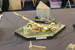 Schneider 220 mm - 1/35 (CHRISTOPHE CHAMPAGNE) Tags: 2019 france champagne marne exposition maquette suippes artillerie française 1ere gm 135 220 mm long schneider