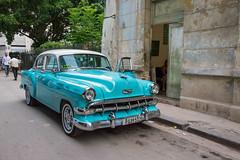 Turquoise Chevrolet