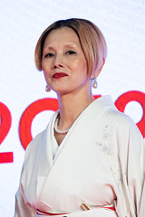 """Natsuki Mari from """"Tora-san, Wish You Were Here"""" at Opening Ceremony of the Tokyo International Film Festival 2019"""