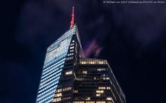 Bank of America Tower (20191103-DSC08450-Edit) (Michael.Lee.Pics.NYC) Tags: newyork night longexposure architecture skyscraper sony a7rm4 fe24105mmf4g bankofamericatower