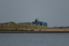 Blakeney lifeboat house (PhotoCet) Tags: photocet norfolk blakeney lifeboathouse blue