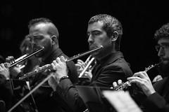 Flauta (Guillermo Relaño) Tags: flauta vienta metal orquesta orchestra mendelssohn sueño noche verano especial pqee ¿porquéesespecial camerata musicalis teatro nuevoapolo madrid guillermorelaño sony a7 a7iii a7m3 byn bw blackandwhite blancoynegro
