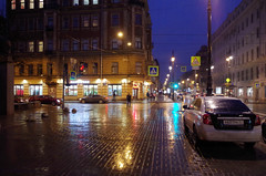 IMGP2600 (PahaKoz) Tags: ленинград санктпетербург город осень leningrad stpetersburg city autumn пейзаж городской landscape cityscape улица дождь street rain ночь night nighttime nightography