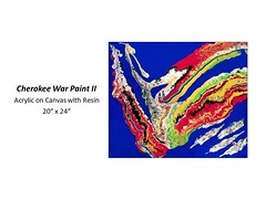 """Cherokee War Paint II • <a style=""""font-size:0.8em;"""" href=""""http://www.flickr.com/photos/124378531@N04/49014451797/"""" target=""""_blank"""">View on Flickr</a>"""